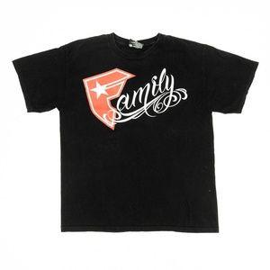 Famous Stars & Straps Shirt Family Crew Neck Black